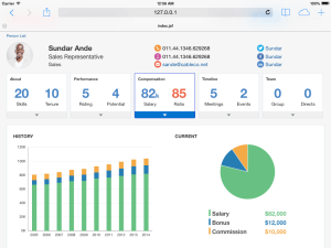 Oracle Alta UI Screenshot Example